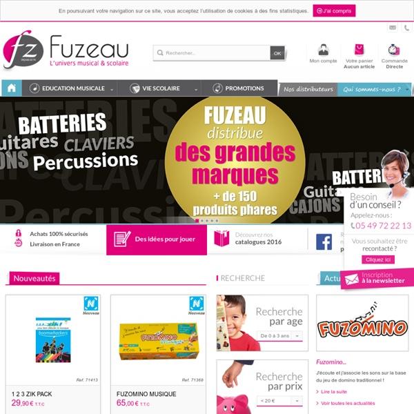 Fuzeau - Le spécialiste de l'éducation musicale et de la vie scolaire