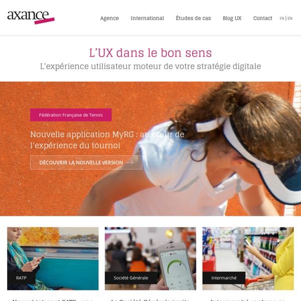 Agence de design de services pour le web et le mobile, spécialiste des tests utilisateurs et de l'ergonomie des interfaces.