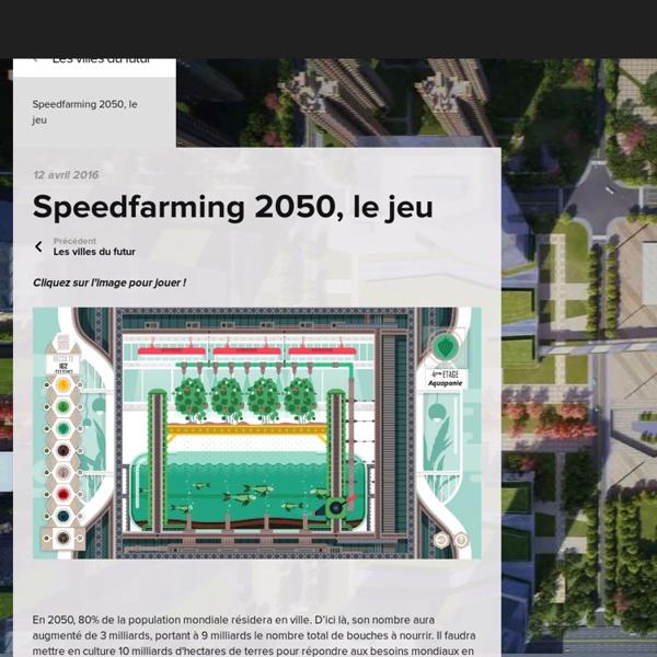 Speedfarming 2050, le jeu