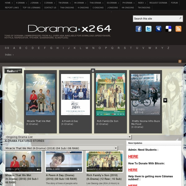 Dorama x264 - Download Links