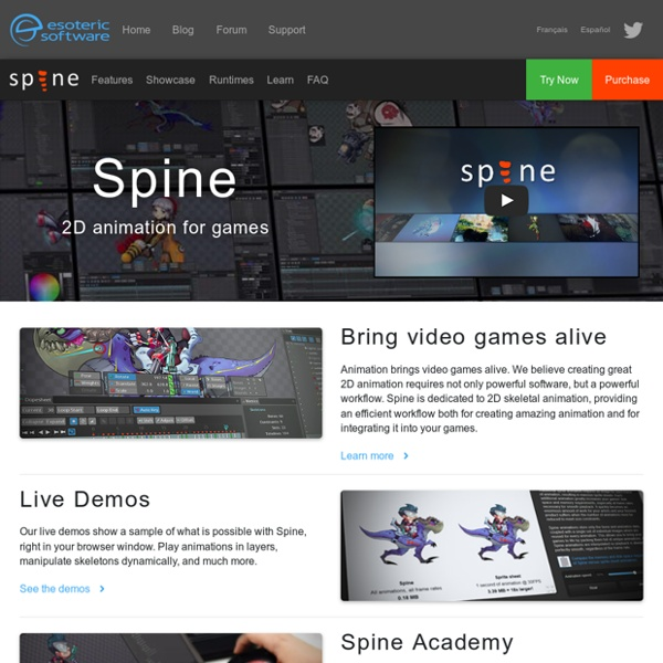 spine animation software free