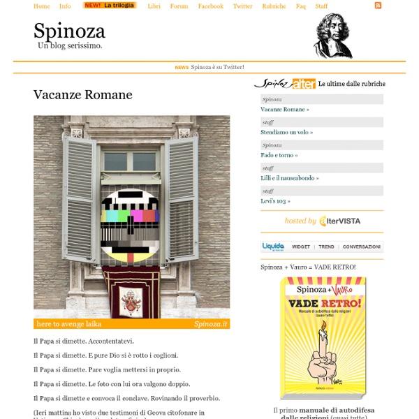 Spinoza.it