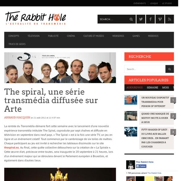 The spiral, une série transmédia diffusée sur Arte
