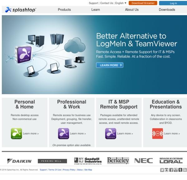 Splashtop - Top-Performing Remote Desktop and Remote Support
