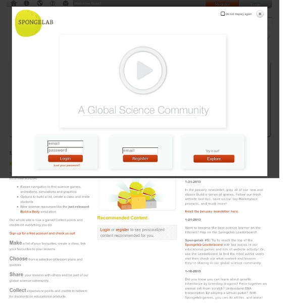 A Global Science Community