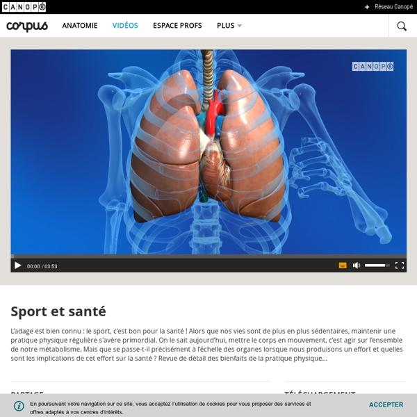 Sport et santé - Canopé