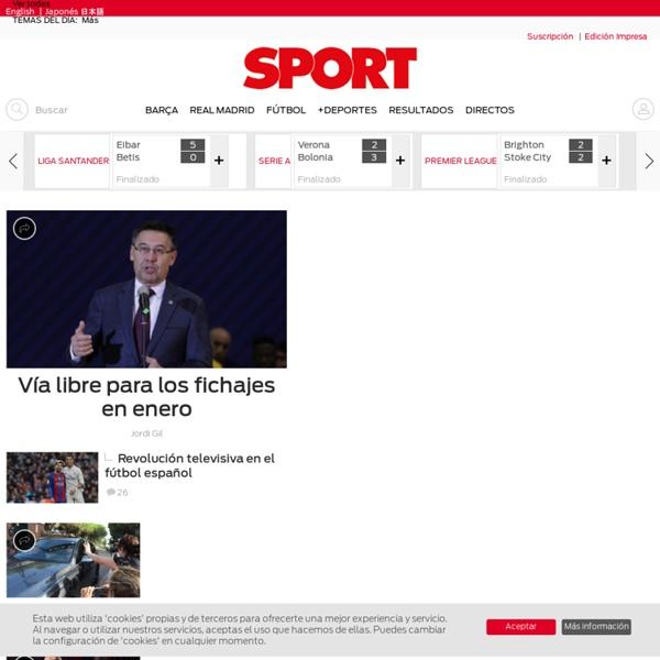 Noticias deportivas de última hora