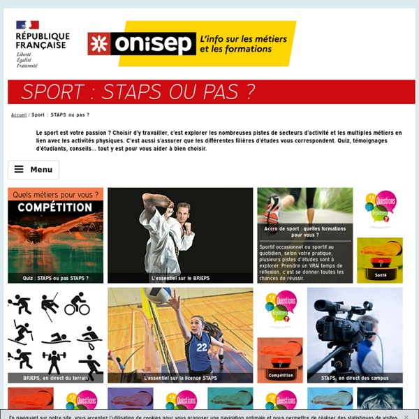 Sport : STAPS ou pas ?