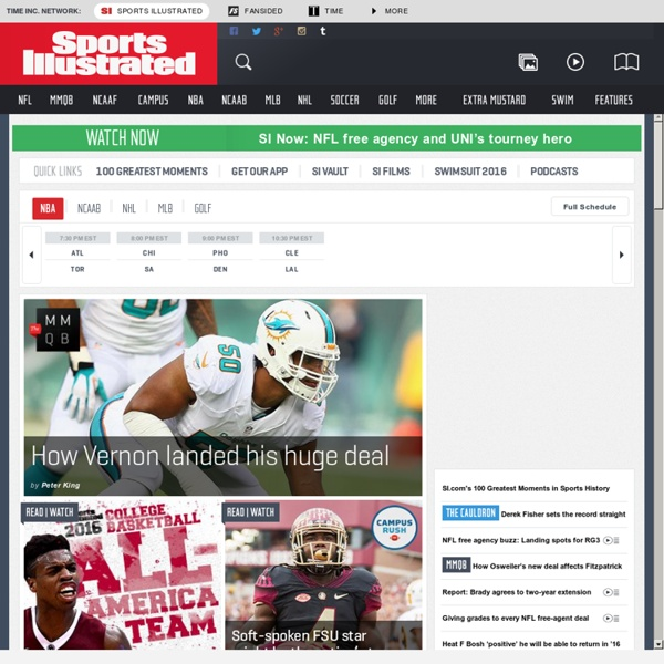 Sports News, Scores and Highlights from Sports Illustrated - SI.com