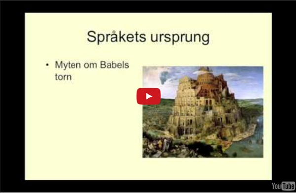 Språkhistoria del1