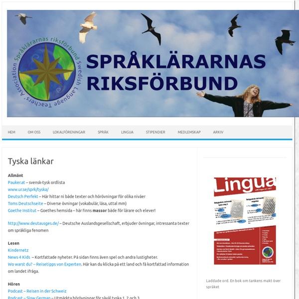 Språklärarnas riksförbund