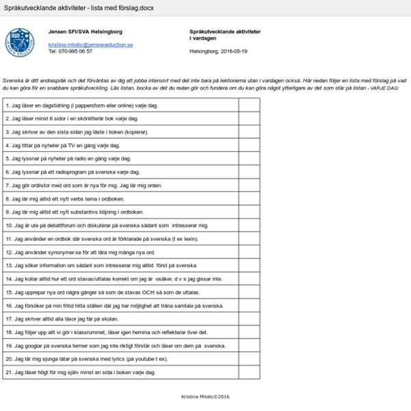 Språkutvecklande aktiviteter - lista med förslag.docx