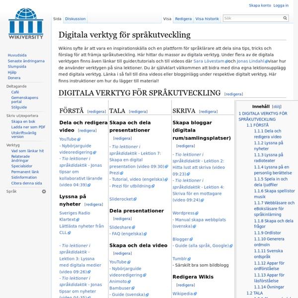 SFI - Svenska för invandrare - Wikiversity