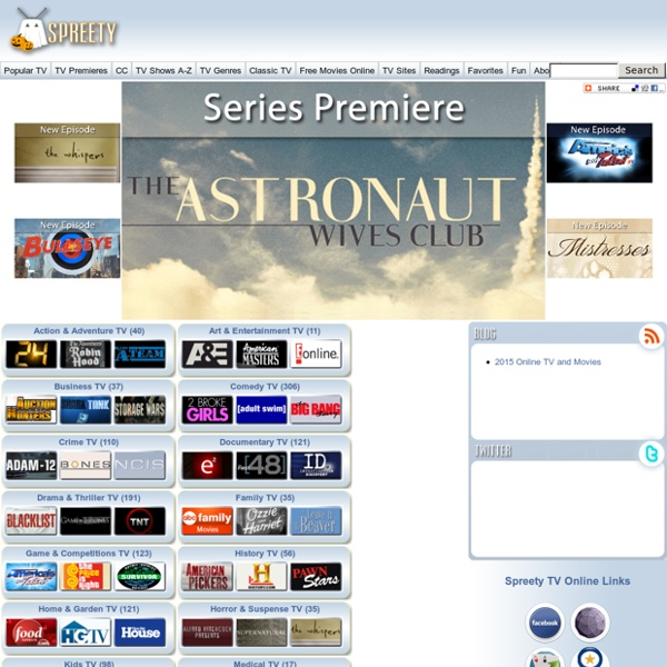 Spreety TV Online  Watch TV Shows Online Free  Pearltrees