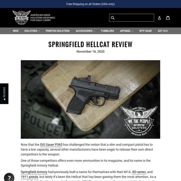 Springfield Hellcat Review