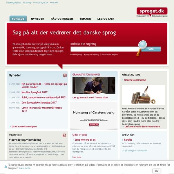 Sproget.dk