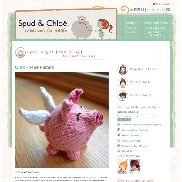 Spud & Chloë — Blog