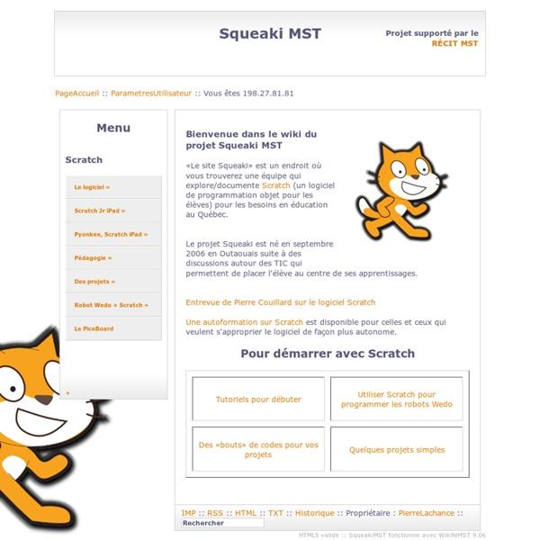 Wiki sur Scratch