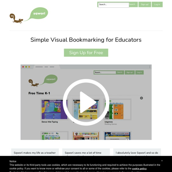 Simple Visual Bookmarking for Educators