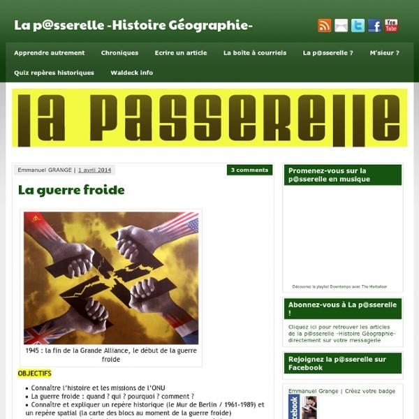 La guerre froide - La p@sserelle -Histoire Géographie-