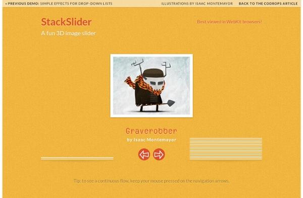 StackSlider: A Fun 3D Image Slider