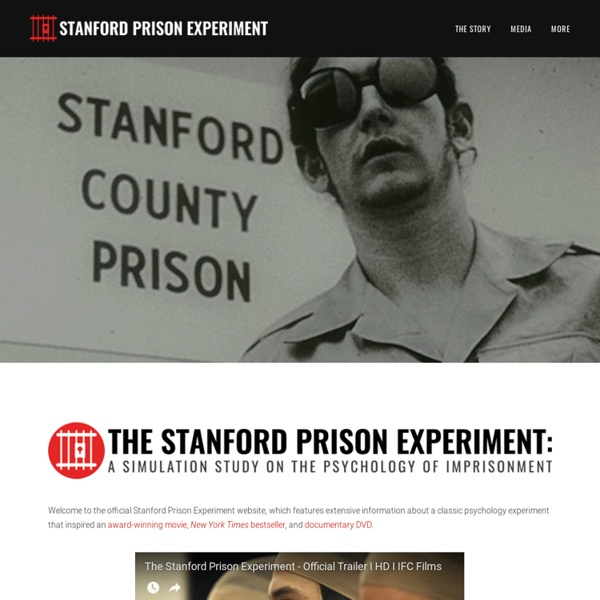 The Stanford Prison Experiment: A Simulation Study of the Psychology of Imprisonment