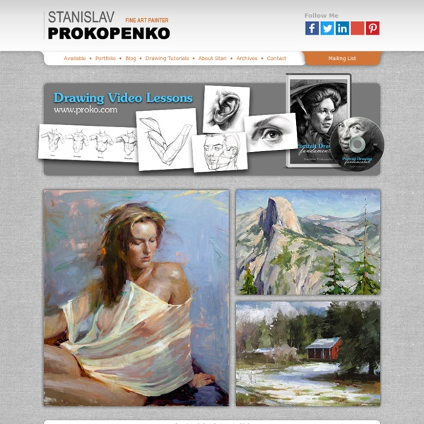 Stanislav Prokopenko - Russian Fine Art Painter