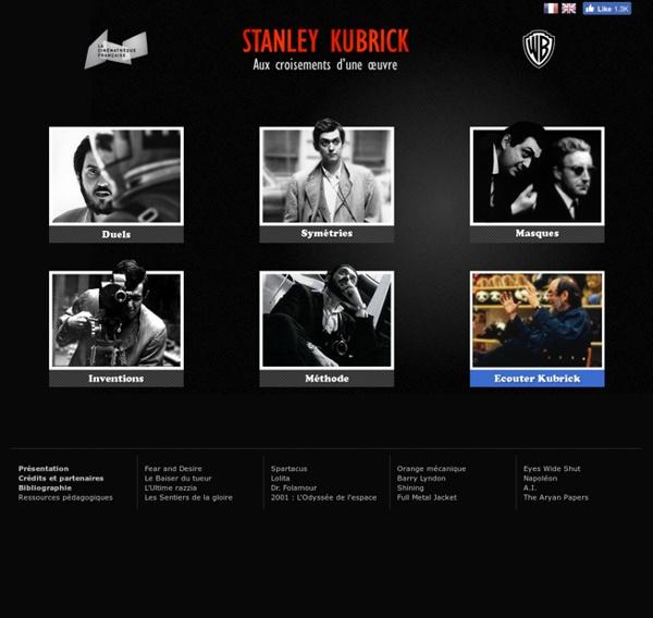 Stanley Kubrick, aux croisements d'une œuvre