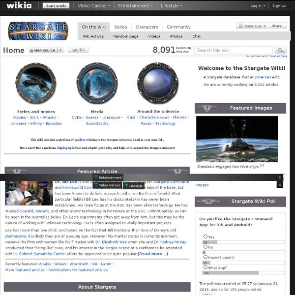 Stargate Wiki