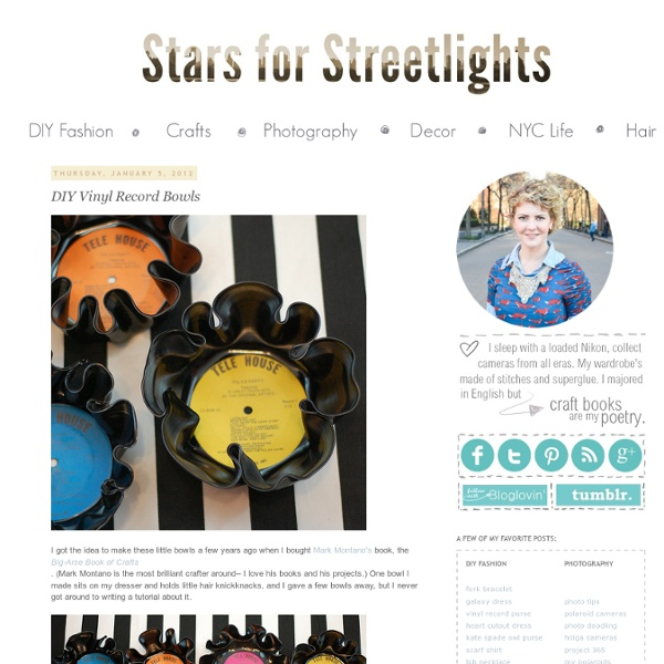 DIY Fashion and Craft TutorialsStars for Streetlights