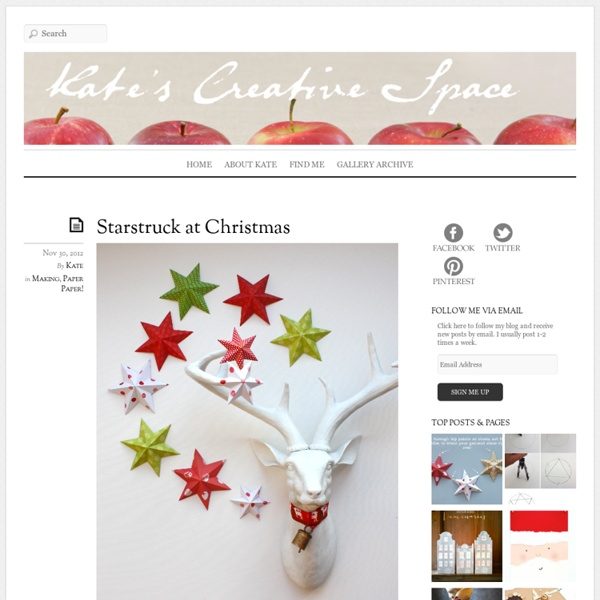 Starstruck at Christmas « Kate's Creative Space