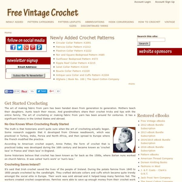 Free Vintage Crochet
