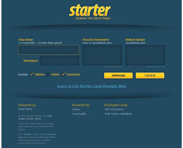 Jumpstart Your jQuery Plugin Development