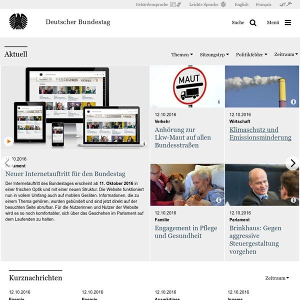 Deutscher Bundestag - German Parliament - Bundestag Allemand
