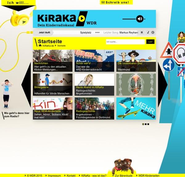 Startseite - KiRaKa - dein Kinderradiokanal