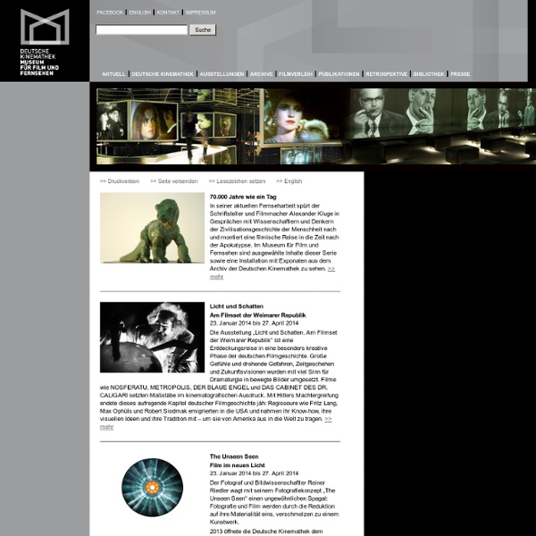 Deutsche Kinemathek - Museum für Film und Fernsehen