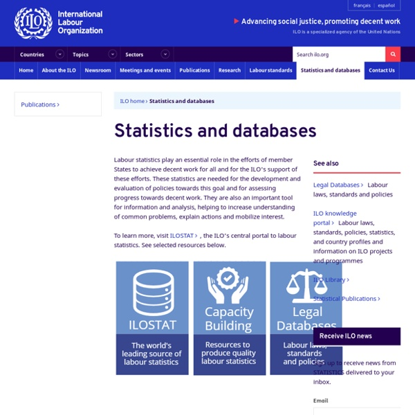 Statistics and databases