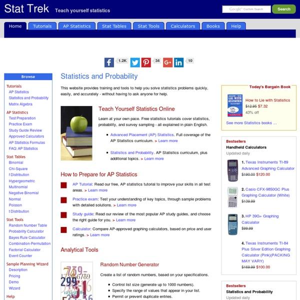 Statistics, Probability, and Survey Sampling