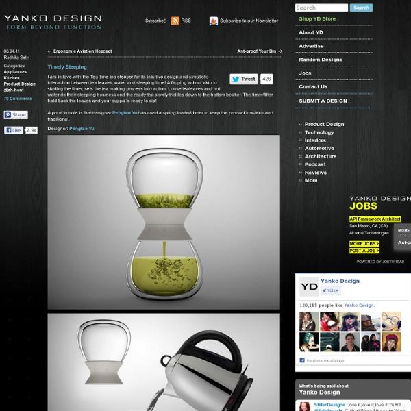Tea-time – Tea Steeper Design by Pengtao Yu