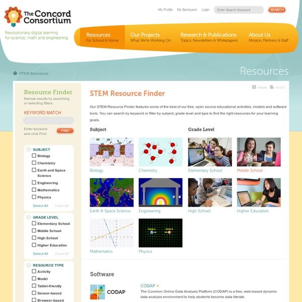 STEM Resource Finder
