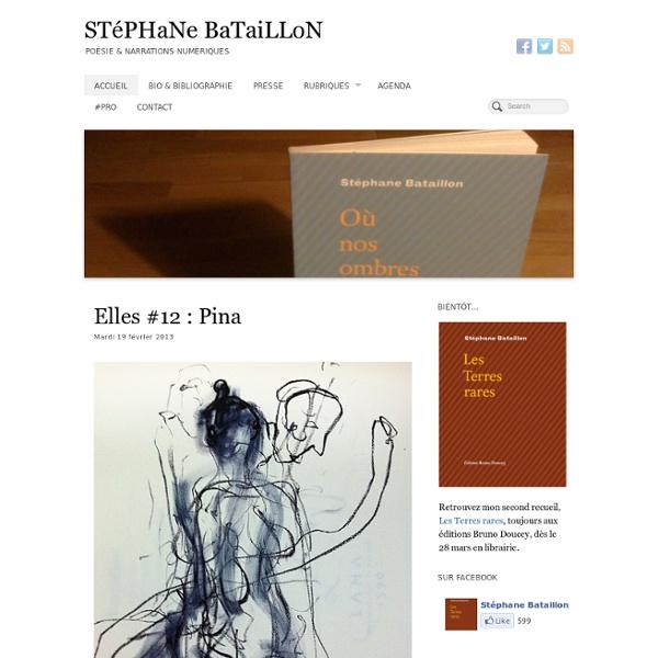 Stéphane Bataillon / Poésie & autres choses