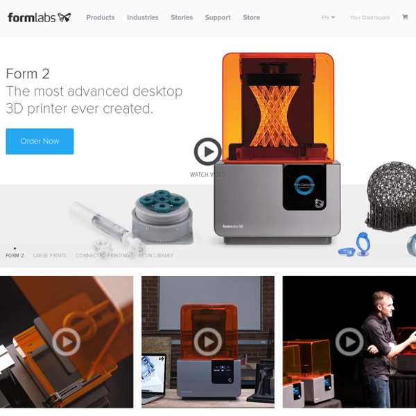 Desktop Stereolithography (SLA) 3D Printing – Formlabs