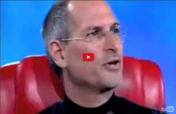 Steve Jobs explains the rules for success