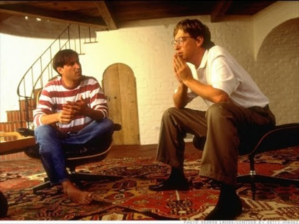 Steve Jobs & Bill Gates, le hippie et le geek