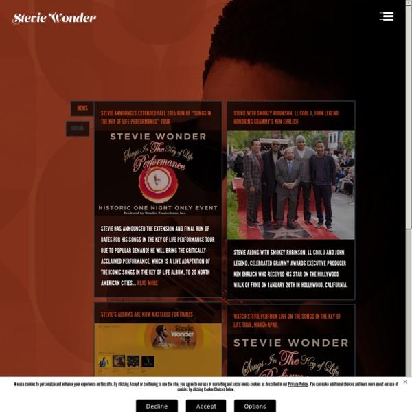 Stevie Wonder Official Site