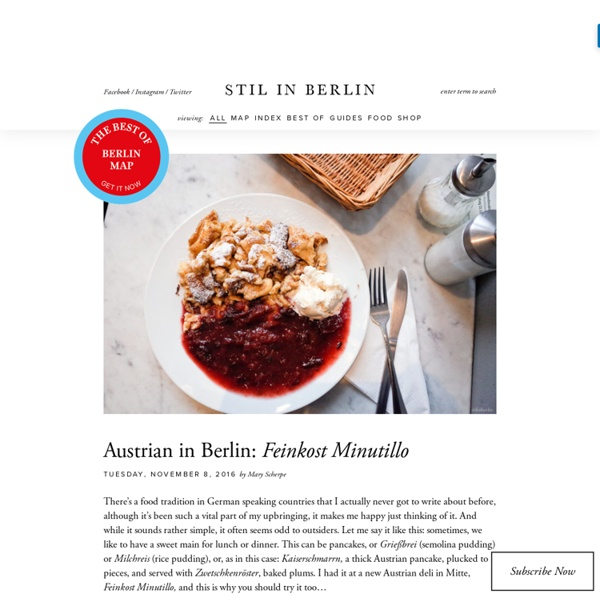 STIL IN BERLIN: Berlin's Best Food, Shops, Art & more