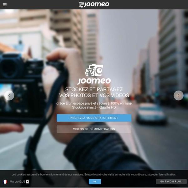 Joomeo - Stockage de photos et partage de photos HD en réseaux privés