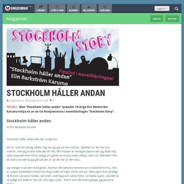 Stockholm håller andan