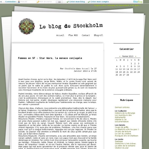 Le Blog de Stockholm - Interne en chirurgie