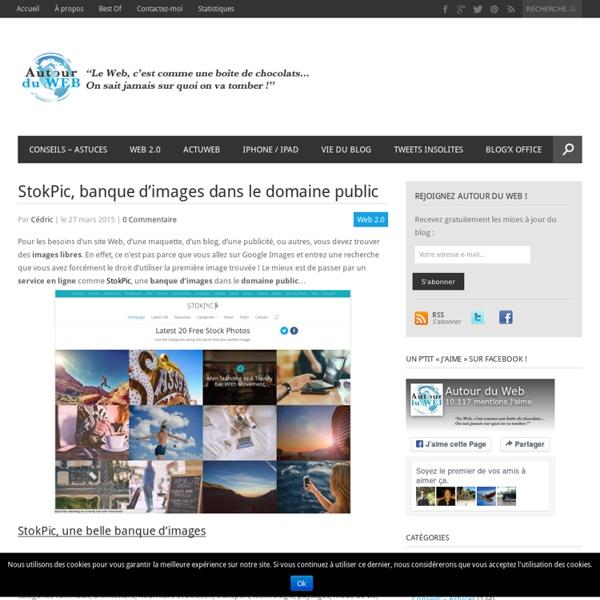 StokPic, banque d'images dans le domaine public
